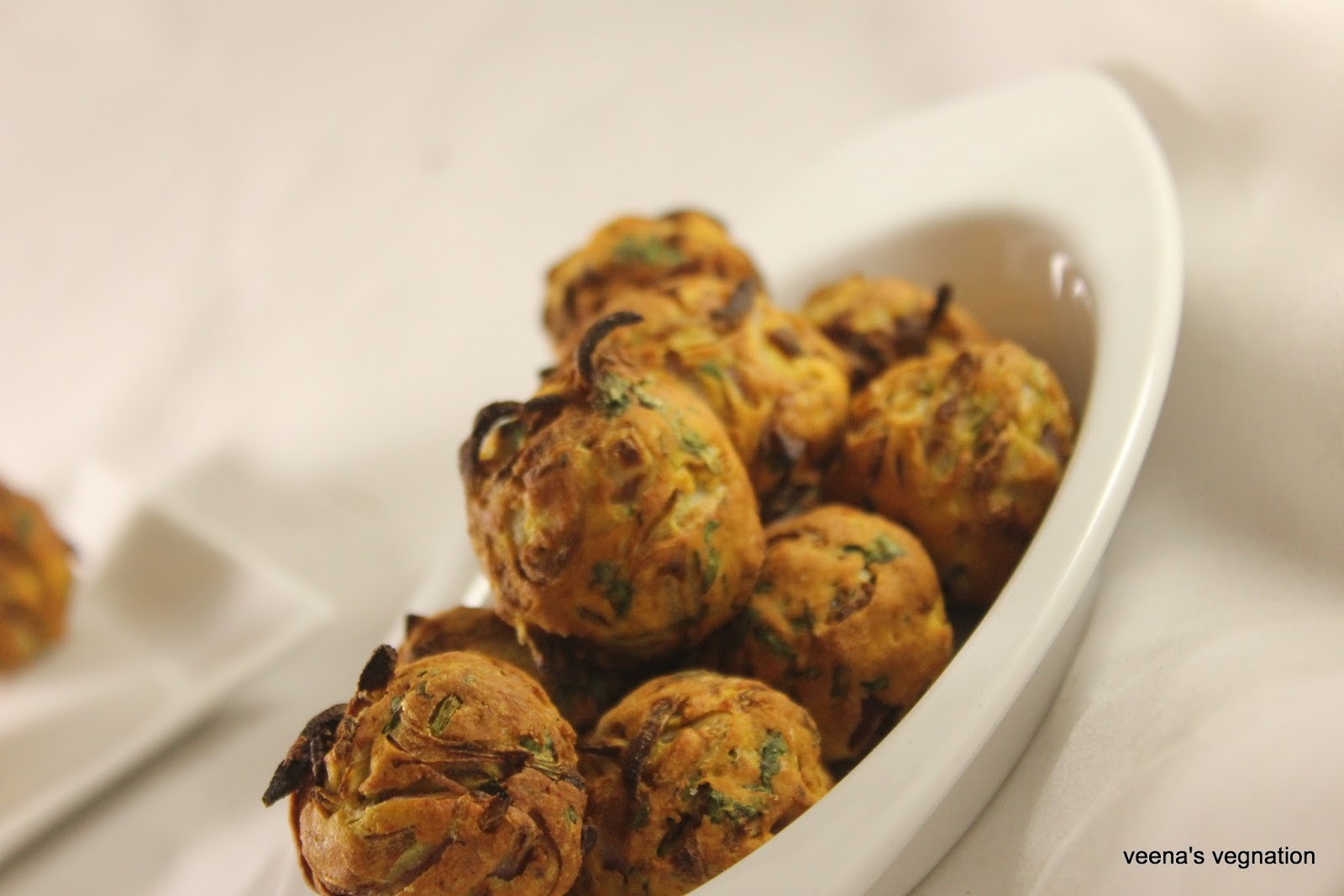 Onion Pakoda In Philips Air Fryer