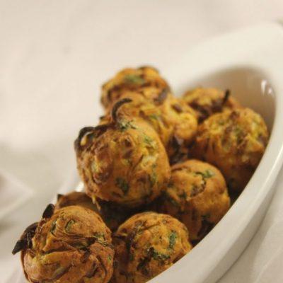 Onion pakoda in philips air fryer