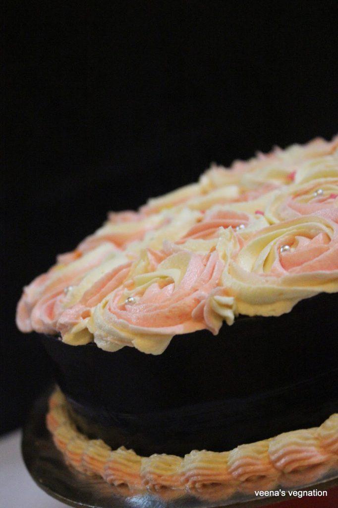 Eggless Chocolate Cake Marias Menu