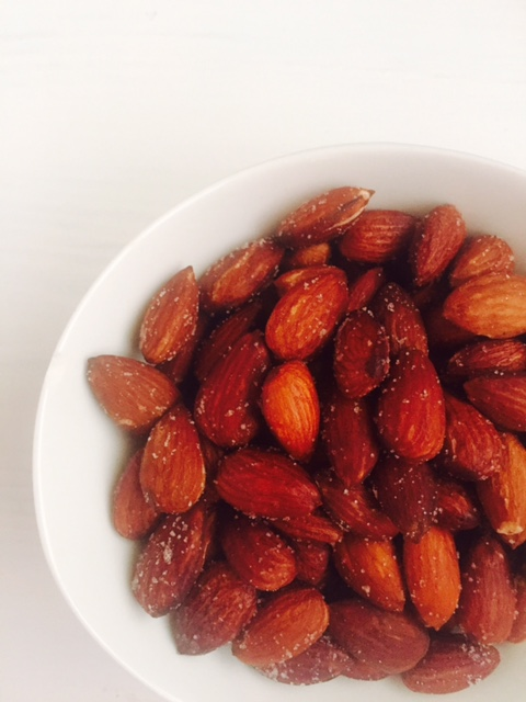 Roasted almonds in Philips Airfryer