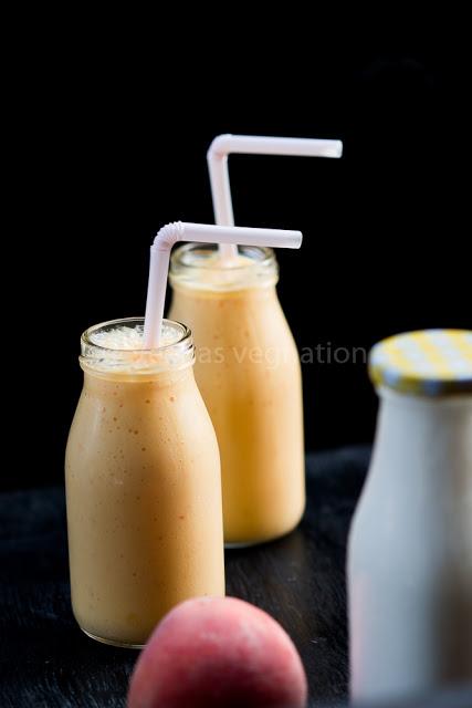 Mango Peach Milkshake