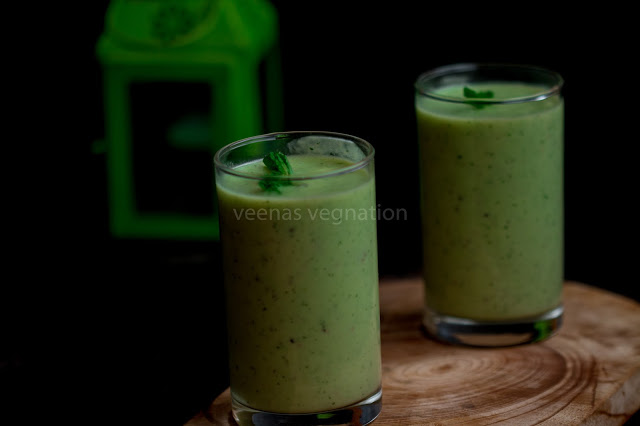 avocado cucumber smoothie