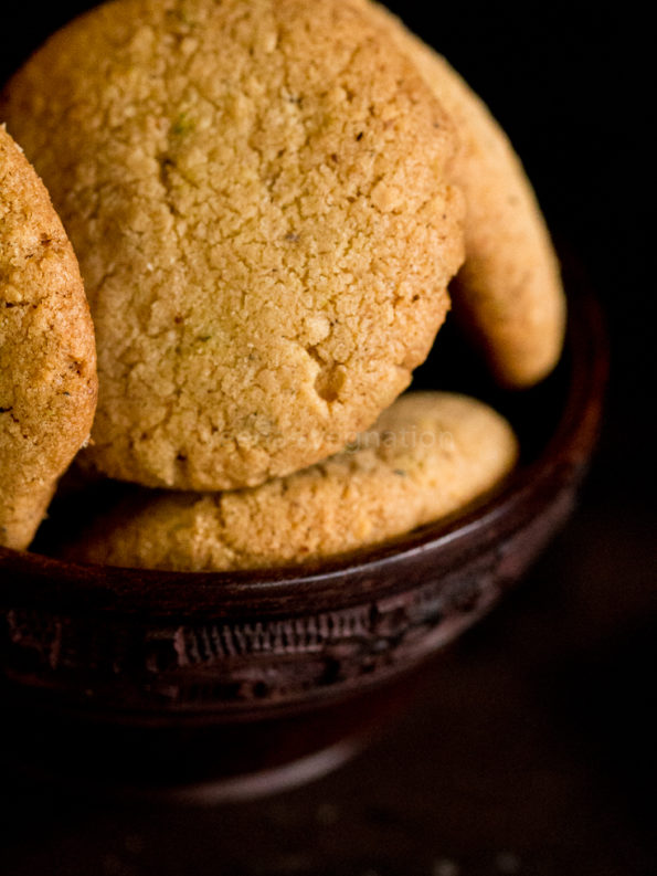 eggless nuts cookies