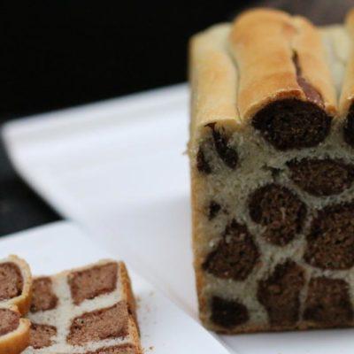 leopard print bread