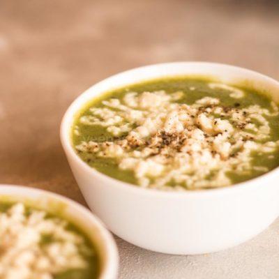 palak paneer soup