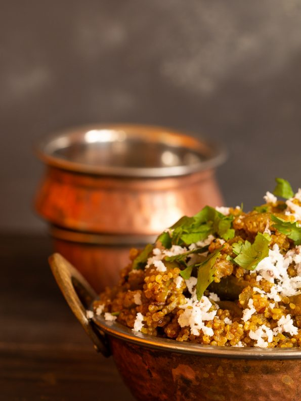quinoa tendli bhaat