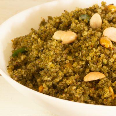 Quinoa murunga keerai saadam