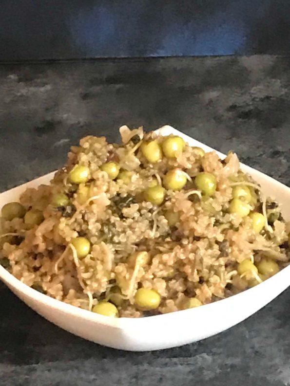 Hariyali Quinoa Pulav