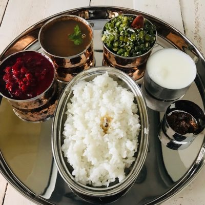 south indian meals in under 35 minutes