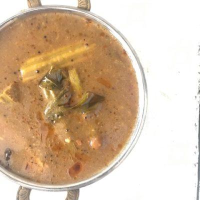 Murungakkai Vathal kuzhambu