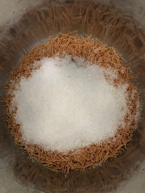 Making semiya kesari in instant pot