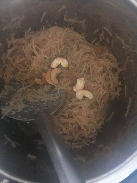 instant pot semiya kesari
